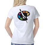 palettewhite Women's Classic T-Shirt