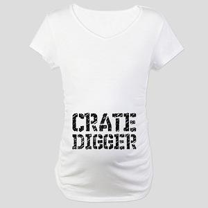 Crate Digger Maternity T-Shirt