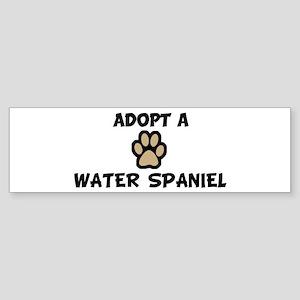 Adopt a WATER SPANIEL Bumper Sticker