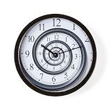 Spiral Wall Clocks