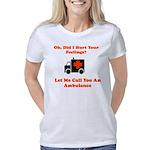 Hurt Feelings Call Ambulan Women's Classic T-Shirt