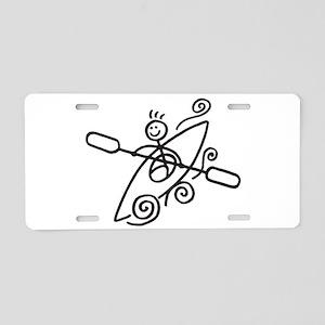 Happy Kayak Aluminum License Plate
