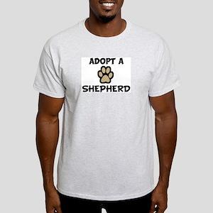 Adopt a SHEPHERD Ash Grey T-Shirt