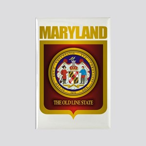 """Maryland Gold"" Rectangle Magnet"