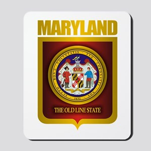 """Maryland Gold"" Mousepad"