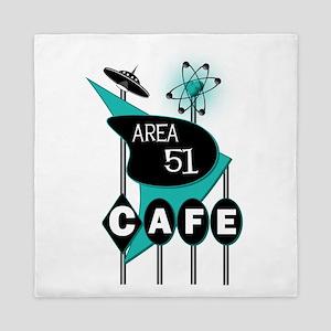 Area 51 Cafe Queen Duvet