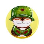 """Soldier of Love 3.5"""" Button"""
