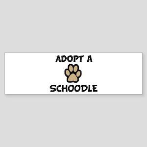 Adopt a SCHOODLE Bumper Sticker
