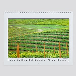 Napa Valley Mustard Bloom Vineyards Wall Calendar
