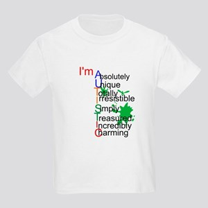 I'm Autistic Kids Light T-Shirt