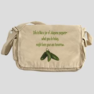 Jalapeno Burn Messenger Bag