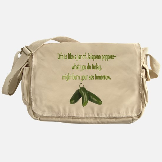 Jalapeno Burn Messenger Bag