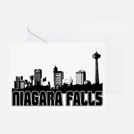 Niagara Falls Skyline Greeting Card