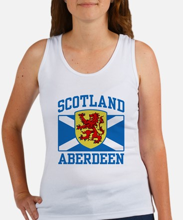 Aberdeen Scotland Women's Tank Top