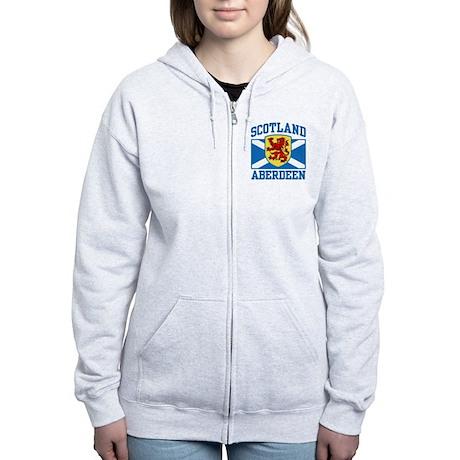 Aberdeen Scotland Women's Zip Hoodie