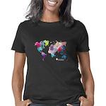 World Rainbow Dark Women's Classic T-Shirt