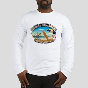 Newport Beach, CA Long Sleeve T-Shirt