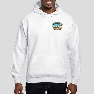 Newport Beach, CA Hooded Sweatshirt