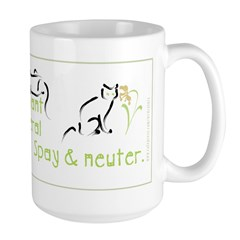 Spay & Neuter Large Mug