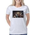 Dancing Bears Painting Women's Classic T-Shirt