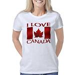 I Love Canada Souvenir Women's Classic T-Shirt