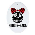 RIBBON-BAKA Ornament (Oval)