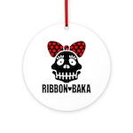 RIBBON-BAKA Ornament (Round)