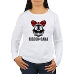 RIBBON-BAKA Women's Long Sleeve T-Shirt