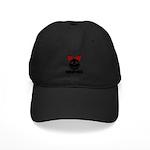 RIBBON-BAKA Black Cap