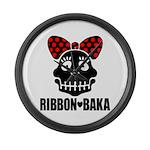 RIBBON-BAKA Large Wall Clock