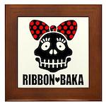 RIBBON-BAKA Framed Tile