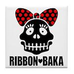 RIBBON-BAKA Tile Coaster