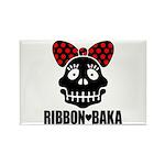 RIBBON-BAKA Rectangle Magnet (100 pack)