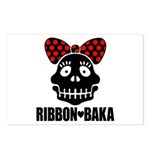 RIBBON-BAKA Postcards (Package of 8)