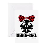 RIBBON-BAKA Greeting Cards (Pk of 20)