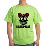 RIBBON-BAKA Green T-Shirt