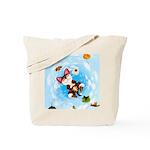 Art of Falling Tote Bag
