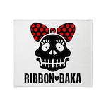 RIBBON-BAKA Throw Blanket