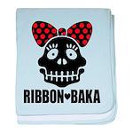 RIBBON-BAKA baby blanket