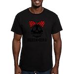 RIBBON-BAKA Men's Fitted T-Shirt (dark)