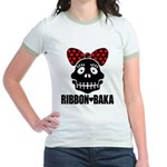 RIBBON-BAKA Jr. Ringer T-Shirt
