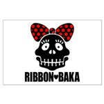 RIBBON-BAKA Large Poster