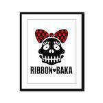 RIBBON-BAKA Framed Panel Print