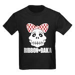RIBBON-BAKA2 Kids Dark T-Shirt
