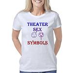 sex_symbols_white Women's Classic T-Shirt