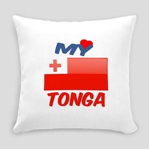My Love Tonga Everyday Pillow