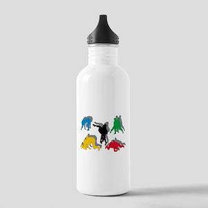 Wrestling Stainless Water Bottle 1.0L