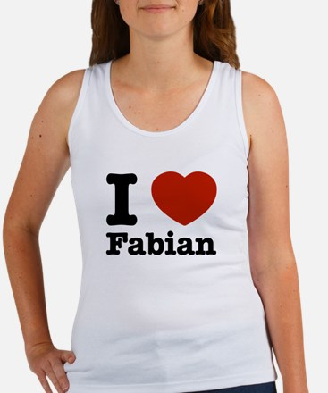 I love Fabian Women's Tank Top