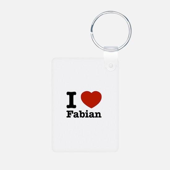 I love Fabian Keychains