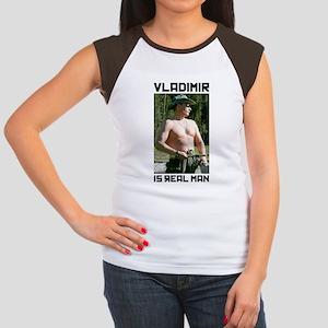 526879a4ce79b7 Vladimir Putin Women s Cap Sleeve T-Shirt
